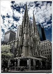 St. Patrick's Cathedral - NYC (Lanfranco_B) Tags: new york city nyc usa church st project cathedral patrick restoration patricks