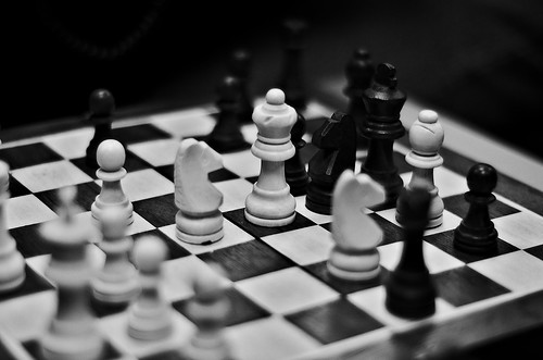 Chess play, From FlickrPhotos