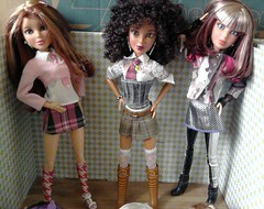 Carly, Alexis and Sophia in schooluniforms (Just a Nobody) Tags: alexis school love uniform doll steffi katie liv hayden carly sophia ororo