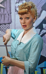 Lucille Ball at Madame Tussaud's New York