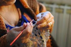 """Creare (2) (Claudio """"Grincius"""") Tags: make hands crochet mani create tailor creare traycloth uncinetto"""