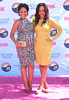 Tamera Mowry and Tia Mowry at the 2012 Teen Choice Awards held at the Gibson Amphitheatre - Arrivals Universal City, California