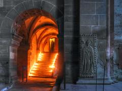 Klostertreppengeist (KurtFML) Tags: candles monastery orte bishop kerzen kloster weltkulturerbe bischof badenwrttemberg badenwuerttemberg maulbronn photomatix worldheritiage