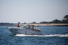 Boot in Golfe du Morbihan (BasBoerman) Tags: family camping summer holiday france strand zeilen boot boat vakantie familie july bretagne zee zomer frankrijk juli bootje 2012 zeilboot zomervakantie varen sarzeau