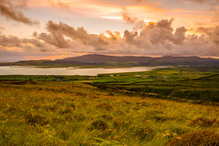 29th July 2012 (Rob Sutherland) Tags: uk sunset summer england landscape evening northwest north estuary cumbria fells moor northern fell furness millon blackcombe duddon kirkbyinfurness bankhousemoor