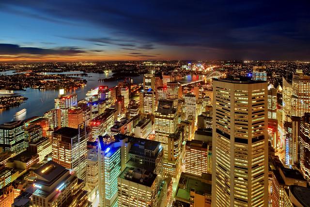 High Above Sydney
