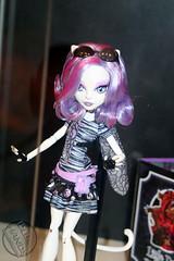 SDCC 2012 Mattel Monster High Dolls  057 : Catrine DeMew (IdleHandsBlog) Tags: fashion toys spooky horror mattel collectibles monsterhighdolls sdcc2012 sandiegocomiccon2012