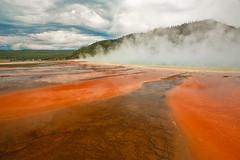 Midway Geyser - Yellowstone (Jackpicks) Tags: yellowstonenationalpark yellowstone geysers midwaygeyser mygearandme mygearandmepremium gpsetest
