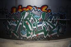 ASEK7 (Reckless Artist) Tags: urban west art abandoned minnesota wall canon photography graffiti photo midwest paint artist graf cement stpaul minneapolis spray mpls photograph tc twincities graff mn minn mid reckless recklessartist aerososol