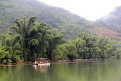 DG-74 (David Greig) Tags: china mountains river liriver li boat view yangshuo bamboo motor karst xingping 20yuannote
