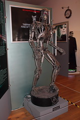 Endoskeleton from Terminator 2 (charliejb) Tags: movie exhibition devon torquay t2 endoskeleton terminator2judgementday torquaymuseum scifiexhibition