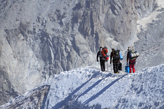Did you bring everything on the list? (j'aym) Tags: snow alps alpes outdoor climbing mountaineering chamonix aiguilledumidi alpinism alpinist montblancmassif hautemontagne