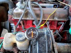 IMG_2972 (rat_fink) Tags: temp water volvo engine dial needle temperature waterpump gauge 142 b20 140 vdo coolingsystem redblock b20e