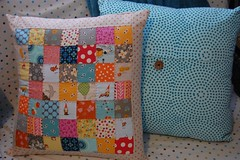 Patchwork Pillow (Tiny House) Tags: