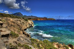 Poipo Coastline (SeanWeeklyImages) Tags: ocean seascape mountains landscape volcano coast scenery hd hdr canon60d