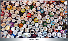 Wake up and smell the coffee! (VandenBerge Photography) Tags: art netherlands coffeecup samsung