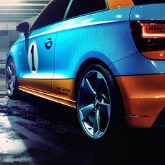 audi #a1 #audizentrumingolstadt #karlbrod #blue #orange... (Daniel Bswald) Tags: blue b urban orange photoshop photography 1 daniel automotive editing a1 audi preview rotor ingolstadt snabshod uploaded:by=flickstagram audizentrumingolstadt karlbrod instagram:photo=3783087310425360899878589