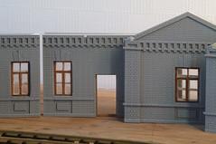 IMGP3340 (kudrdima) Tags: railroad model russia railway guardhouse oldtime     gauge1  gaugeg scaleg spuriim   125