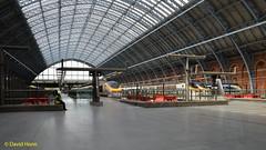 St Pancras Station (davidhann34016) Tags: eurostar stpancras 4010 3007 3108 3213