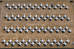 Area 13 - Aerospace Maintenance and Regeneration Group (AMARG), Davis-Monthan AFB, AZ (David Skeggs) Tags: tucson aircraft military aeroplane usaf usn boneyard usairforce davismonthan amarc overflight masdc amarg davidskeggs