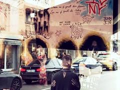 Legends : it's only rock n roll (gregjack!) Tags: street light people newyork paris france colour reflection love french peace streetphotography bobdylan rocknroll johnlennon mickjagger