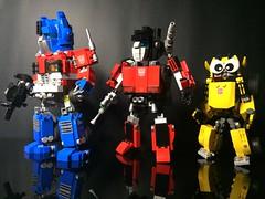 Chibi-Swipe with Chibiformers Bot (Sam.C MOCs) Tags: lego transformers sideswipe chibi moc mech robot anime scifi car lamborghini countach