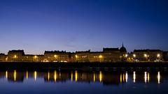 Nantes at blue hour (ricardocapitao) Tags: bluehour naoned poselongue quaidelafosse laloire nantesbynight nikond7000