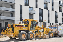 CAT 140H (Alexandre Prvot) Tags: construction construccin lorraine worksite buildingsite travaux chantier cugn grandnancy baustellebauplatz