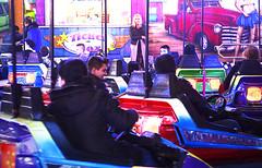 autoscooter for fun (elmar theurer) Tags: art architecture fun design arquitectura artwork pattern nightlights modernart kunst grafik scooter fair popart architektur karlsruhe kirmes jahrmarkt artdesign graphique boxauto artnow autoscooter architekturfotografie elmex1 elmartheurer karlsruhetweets