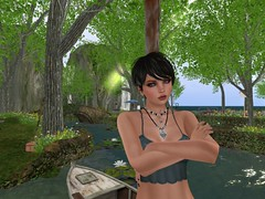 I dont think so.... (liliahreed) Tags: lake female standing boat sl defensive