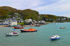 Barmouth harbour, Wales