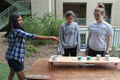 PZ20160513-039.jpg (Menlo Photo Bank) Tags: ca girls people favorite usa game students us maddie spring lily quad science event smallgroup atherton 2016 engaging upperschool makerfaire menloschool photobypetezivkov appliedscienceresearch