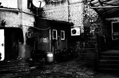 (formwandlah) Tags: life street old city urban bw white abstract black art strange contrast dark lost death graffiti blackwhite high backyard poetry noir gloomy place pentax dream nostalgia architektur nostalgic imagination sw gr monochrom atrium sureal ricoh kaiserslautern abstrakt hinterhof thorsten prinz melancholic bizarr skurril einfarbig melancholisch formwandlah