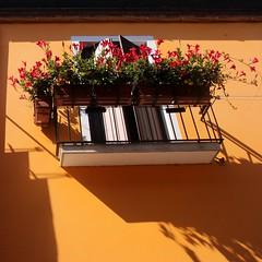 Light.... (Beeke...) Tags: venice windows light urban italy sunshine architecture italia shadows balcony burano veneto
