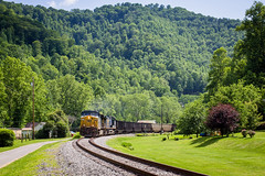 Summer on the CV (Peyton Gupton) Tags: creek branch sub straight cv loyal corbin csx csxt