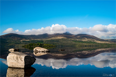 Lough Leane (D.A. Lichtbilder) Tags: blue ireland sky mountain reflection water clouds nikon wasser lough himmel wolken irland eire kerry ring berge killarney d750 blau fx reflektionen leane