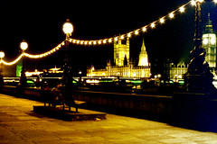 Slide 063-32 (Steve Guess) Tags: london westminster night south bank parliament bigben lambeth
