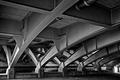 - ///// - (-wendenlook-) Tags: bridge bw monochrome olympus panasonic sw brcke 1718 gm1