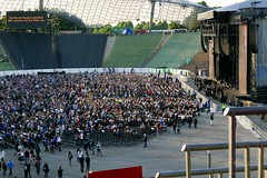 View over Front Section (NM_Pics) Tags: munich mnchen paul beatles olympicstadium mccartney paulmccartney olympiastadion oneonone