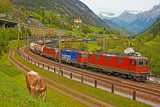 SBB Cargo Re 420 11340, Re 421 273-1 & Re 420 11163