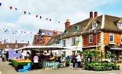 Oakham. Market day (grassrootsgroundswell) Tags: market rutland oakham