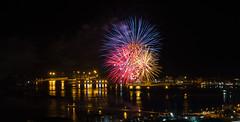 Fuochi d'artificio di San Giovanni 2016 a Vado Ligure [8] (Tiziano Caviglia) Tags: sea port lights mare fireworks liguria porto luci fuochidartificio marligure vadoligure rivieradellepalme portovado