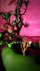 Fire Sky, Fire Land (santies31) Tags: island pirate playmobil