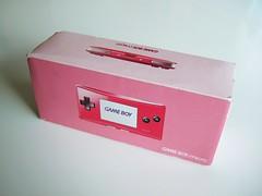 GameBoy Micro box (bochalla) Tags: uk pink game portable europe box nintendo system handheld packaging videogame gameboy import gba gameboyadvance hotpink gameboymicro
