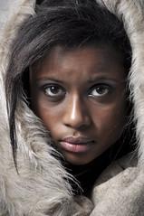 Coumba (Mitch Riter) Tags: portrait fashion fur furry nikon sharp sharpness 2470 d90