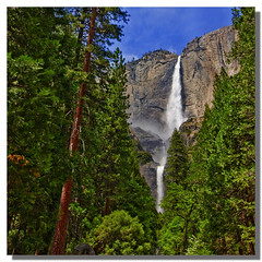 Hidden Falls (Michael Lawenko dela Paz) Tags: yosemitefalls nationalpark waterfalls yosemite yosemitenationalpark hdr autoclub yosmitenationalpark aaatravel dblringexcellence michaeldelapazphotography familyfriendlyplaces