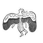 """<b>Falling Angel (Sirene)</b><br/> Gerhard Marcks (1889-1981) """"Falling Angel (Sirene)"""" Woodcut, 1947 LFAC #418<a href=""""http://farm8.static.flickr.com/7127/7045955515_9c97eccf31_o.jpg"""" title=""""High res"""">∝</a>"""