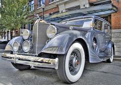 Vintage Eight (showbizinbc) Tags: auto car automobile antique vinage