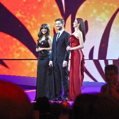 Three presenters