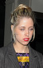 Peaches Geldof arrives at The May Fair Hotel London, England